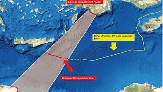 """Προκλητικοί χάρτες από την Τουρκία: """"Εξαφανίζουν"""" Ρόδο, Κάρπαθο, Κρήτη και Κύπρο"""