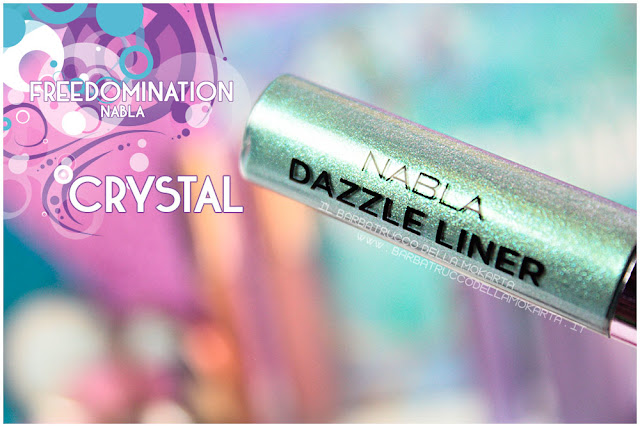 crystal dazzle liner review nabla cosmetics freedomination collection summer