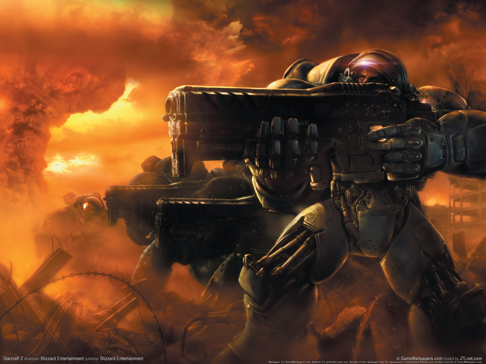 Starcraft Game Wallpapers 3 Hd Wallpapers Starcraft 2