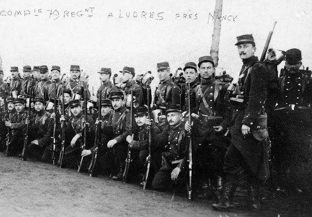 Guerre 14-18 : Antoine CANEL, un soldat lorrain du 79e RI, prisonnier en Allemagne (1895-1918)
