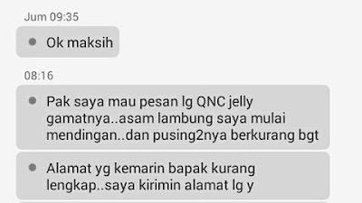 Hasil gambar untuk testimoni QnC untuk asam lambung