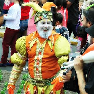 Bobo da Corte no Desfile dos Bonecos do Festival Internacional de Teatro de Bonecos de Canela