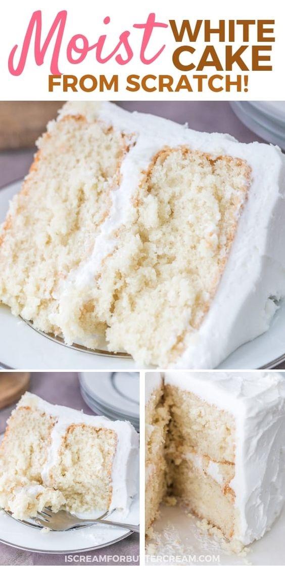 Moist White Cake