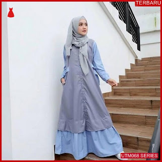 UTM068R55 Baju Ralineralina Muslim Dress UTM068R55 044 | Terbaru BMGShop