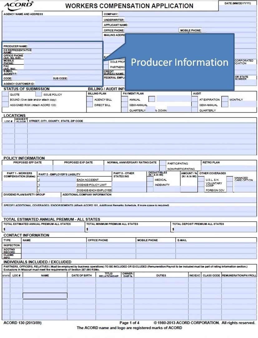 Acord Form 23 Cogu Lessecretsdeparis Co