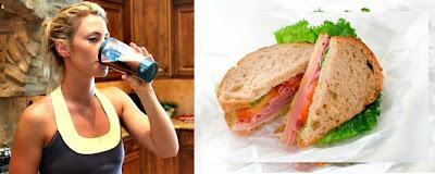 Ejemplo de comida post entrenamiento para mujeres