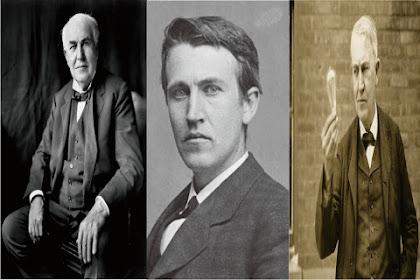 Thomas Alva Edison Penemu dan Pengusaha 1093 Hak Paten