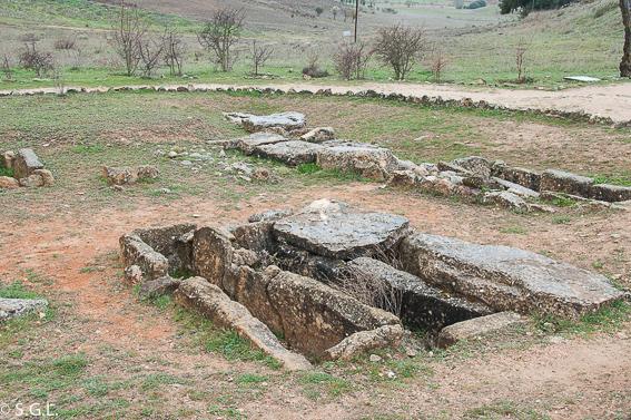 La necropolis de Segobriga. Ciudad romana de Cuenca