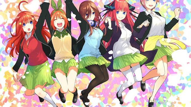The Quintessential Quintuplets tendrá un total de 12 episodios