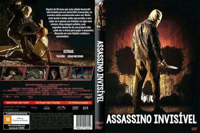 Filme Assassino Invisível DVD Capa