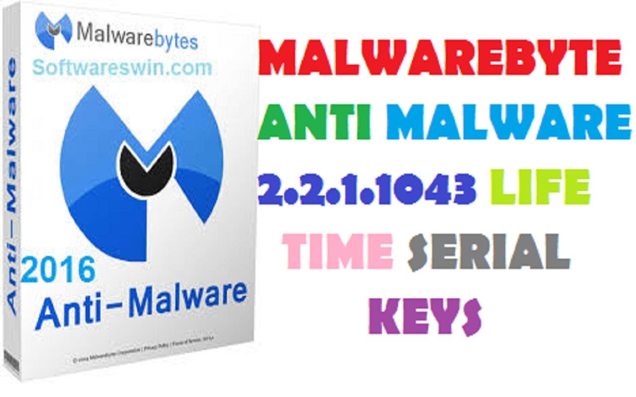 anti malware serial keys