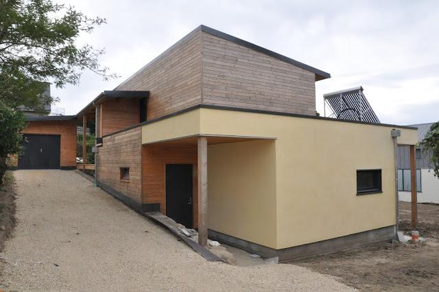 maison-passive-paille prefabrication bretagne Echopaille