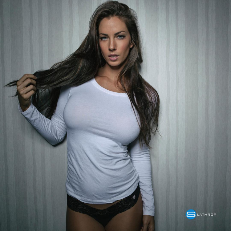 Model and personal trainer Janna Breslin