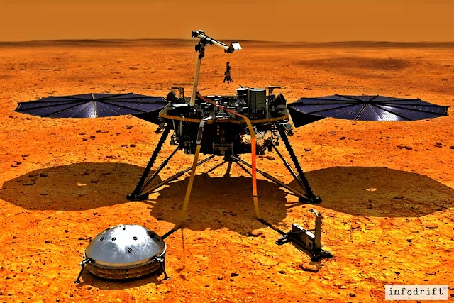 Marsquake: an earthquake on mars!!! hear the audio of marsquake here along with it's several details