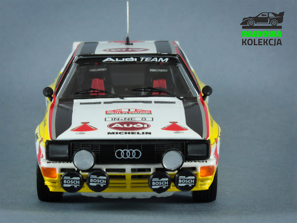 Trofeu Audi Quattro A2 Winner Rally Portugal 1984