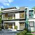 2223 square feet modern 3 bedroom house design