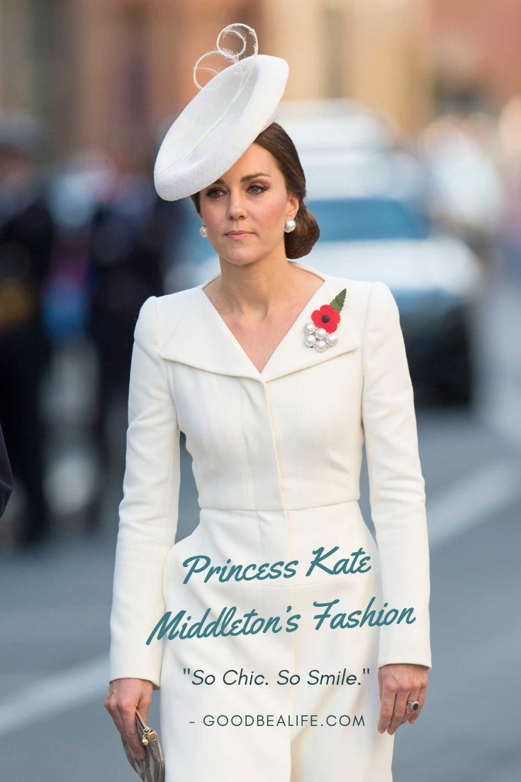 Beautiful and adorable Princess Kate Middleton's clothes combination<br/>