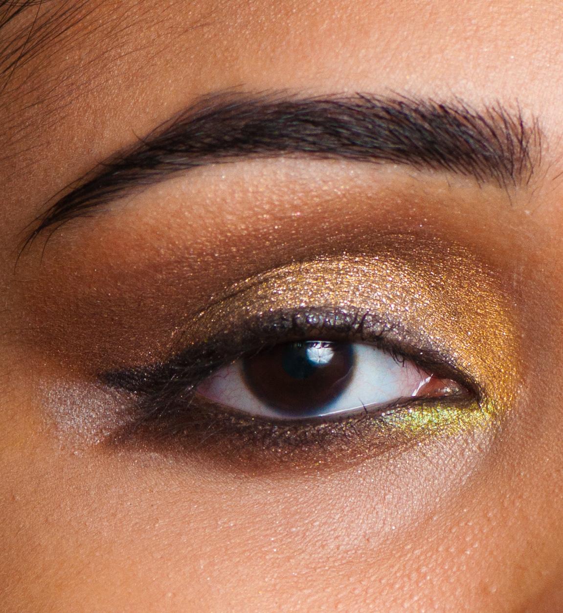 Makeup is my Drug: EOTD : Old Gold...Arabic eyes