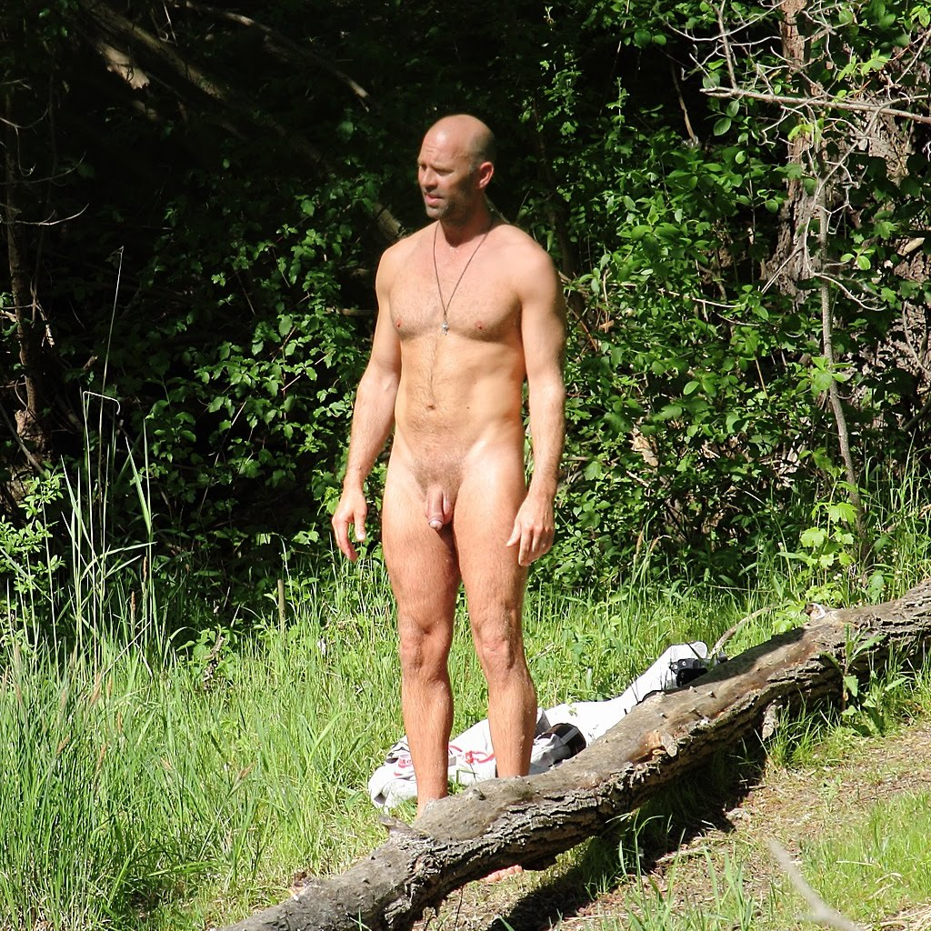 Guy with pants down nude