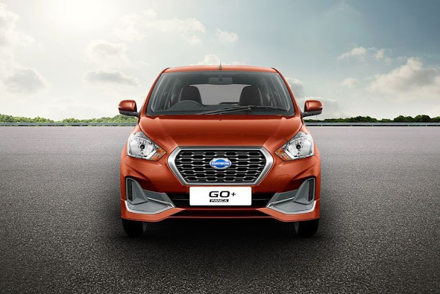 All New 2018 Datsun GO Plus Facelift version front view