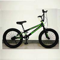 20 evergreen 3.0 fatbike bmx sepeda