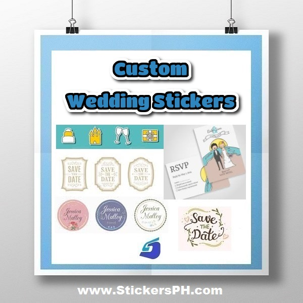 Custom Wedding Stickers Philippines