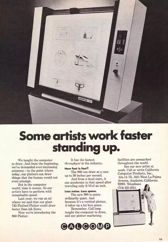 Old days' Computer Advertisements 11