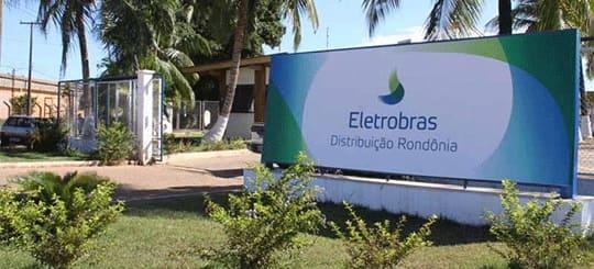 Foto da Sede da Eletrobras Distribuição Rondônia