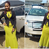 Nigerian lady gets brand new car 5 days after she gave her old car to church (Photos)