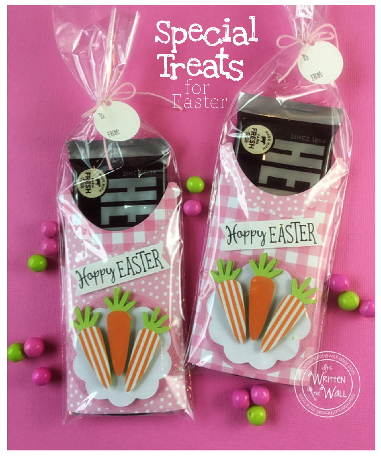 Easter Candy Bar Wrapper
