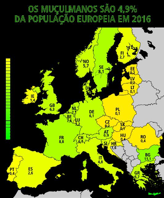 Muçulmanos na Europa
