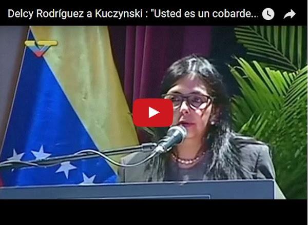 Perú retira a su embajador en Venezuela por culpa de Delcy Rodriguez