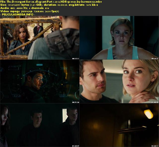 Descargar The Divergent Series: Allegiant Subtitulado por MEGA.