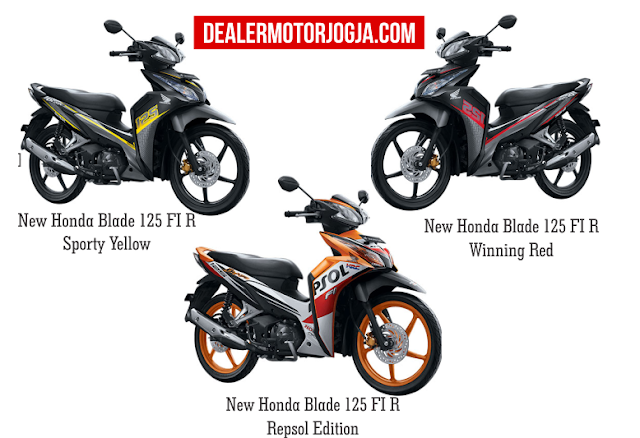 Spesifikasi Motor Honda Blade 125 FI