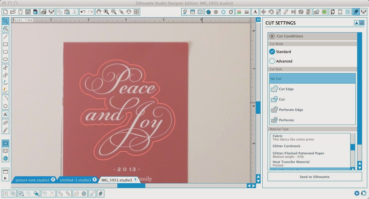 Silhouette Pixscan, Silhoeutte tutorial, Pixscan tutorial, Silhouette Studio, offset