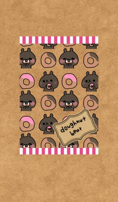 Doughnut bear