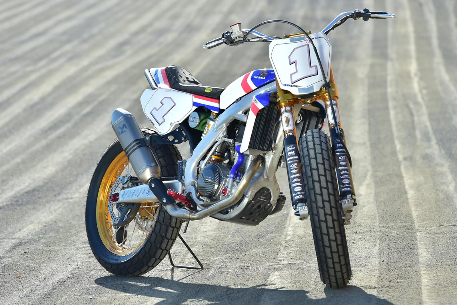 How To Build A Flat Track Motorcycle Rocketgarage Cafe Racer Magazine