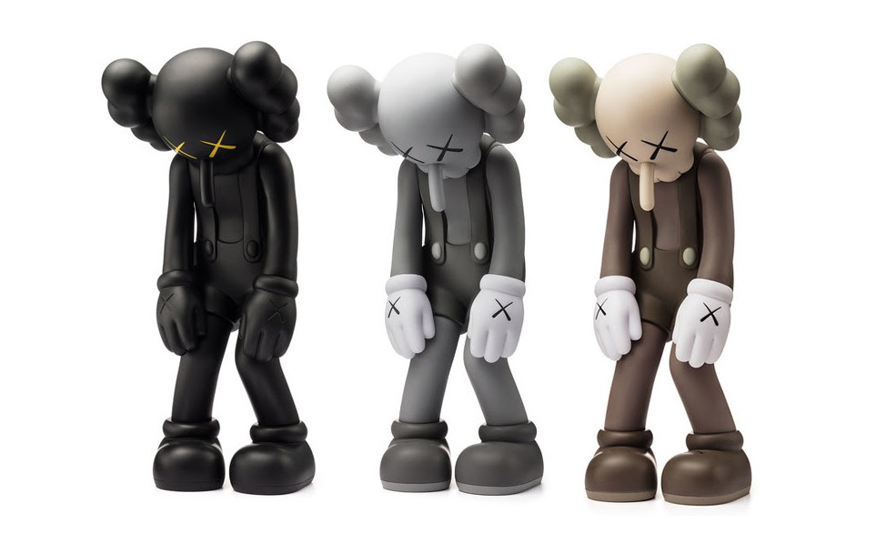 KAWS Custom bearbrick Pinocchio Figure 3D Vision Lampe à DEL