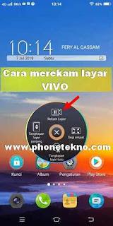 Cara merekam layar VIVO Y71