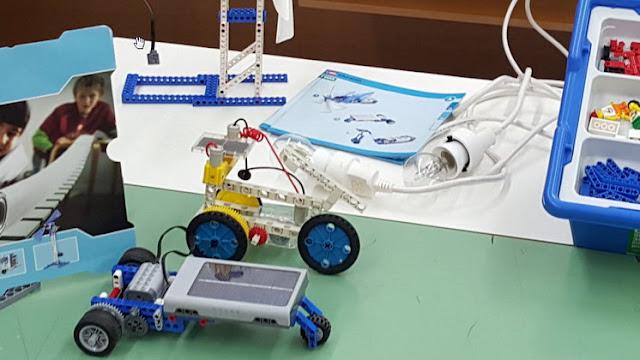 Παρουσίαση του ΚΠΕ Μαρώνειας για τη χρήση μοντέλων εκπαιδευτικής ρομποτικής στην Περιβαλλοντική Εκπαίδευση