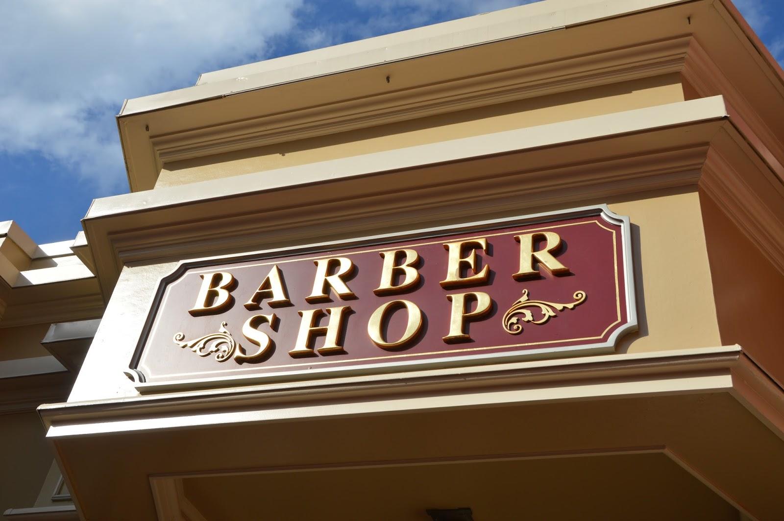 Tess's First Haircut {Harmony Barber Shop}