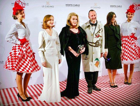 Princess Caroline of Hanover attended the Surrealist Dinner Party hosted by Belgian designer Charles Kaisin
