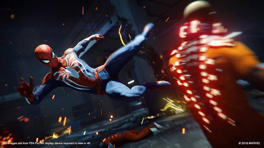 marvels spider man e3 2018 ps4
