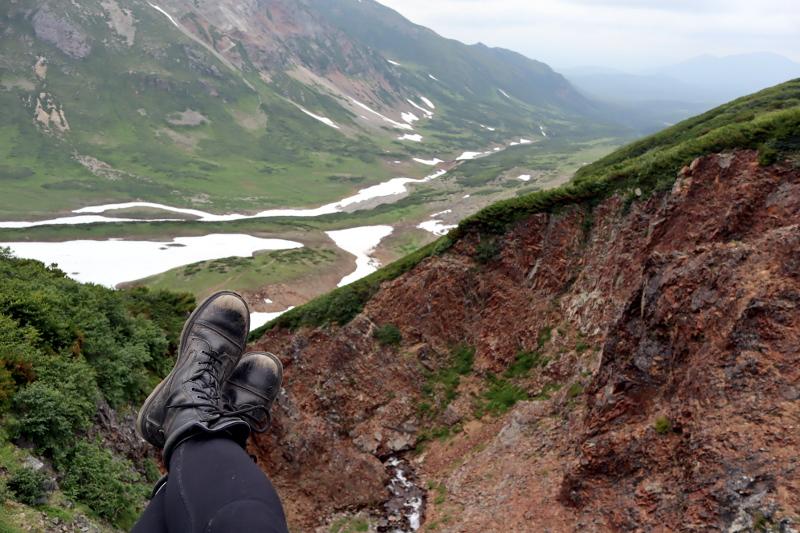 Камчатка Вачкажец водопад и панорама