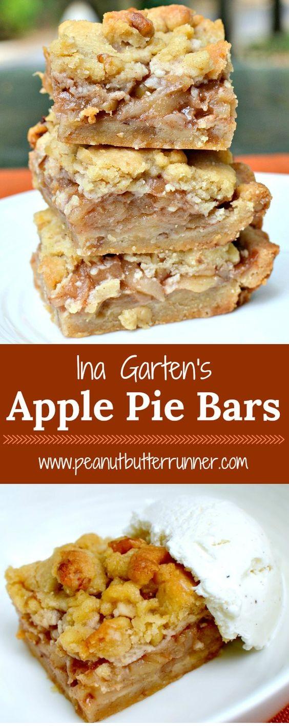 Ina's Apple Pie Bars – Easier Than Apple Pie