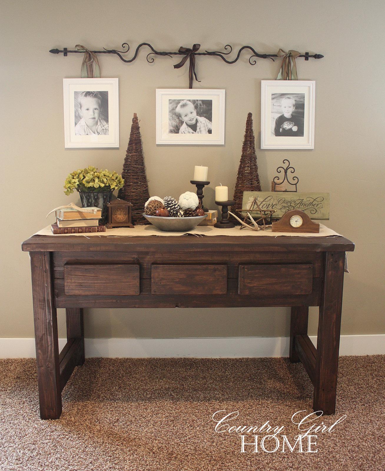 Sofa Table Decorating Ideas | DECORATING IDEAS