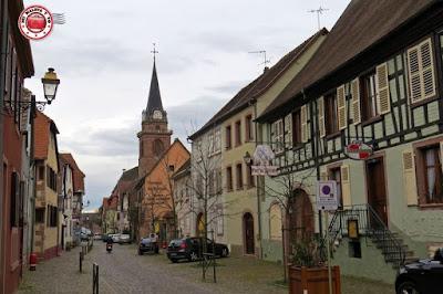 Bergheim, Alsacia, Francia