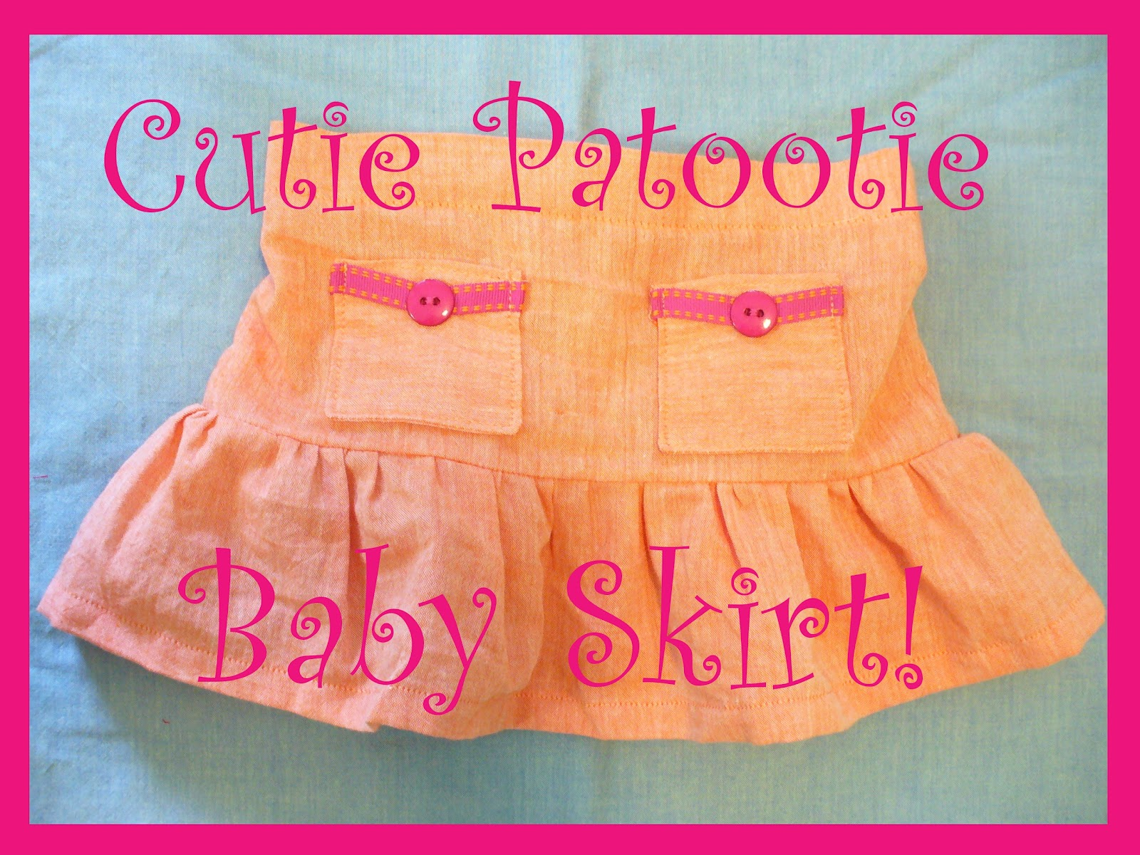 To Carry In The Hand Free Pattern Cutie Patootie Baby Skirt
