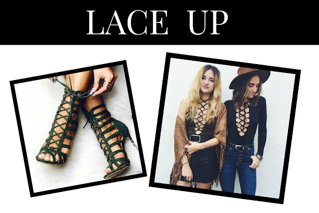 lace up fashion