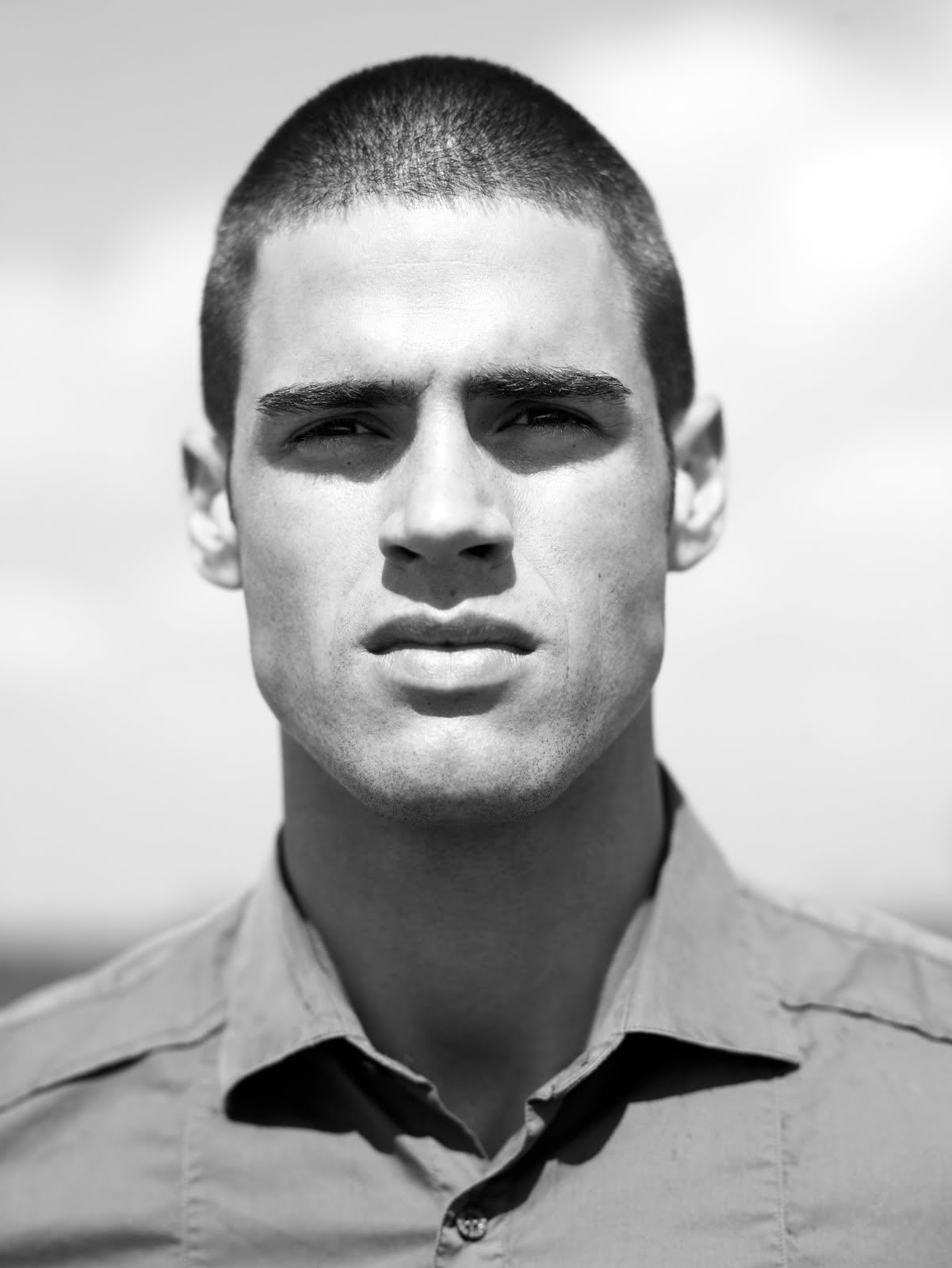 Male Beauty Photos: American Male Model - Chad White.